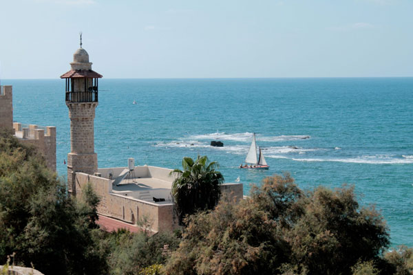 Coast Of Tel Aviv Yaffo
