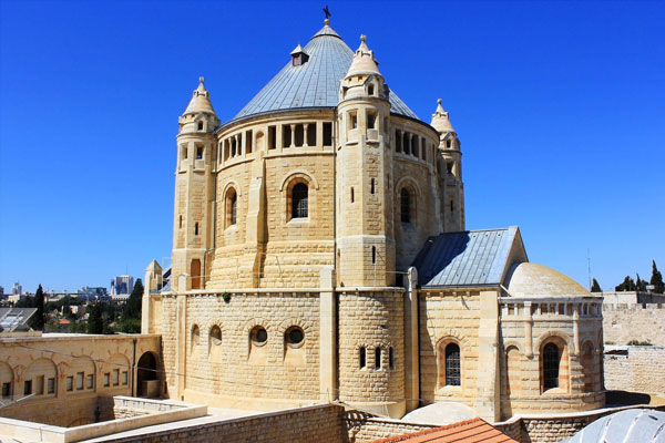 Dormition-abbey-mount-zion-jerusalem