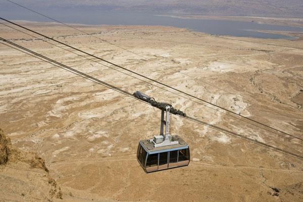 Masada-cable-car